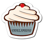 Cupcake Shape Magnets